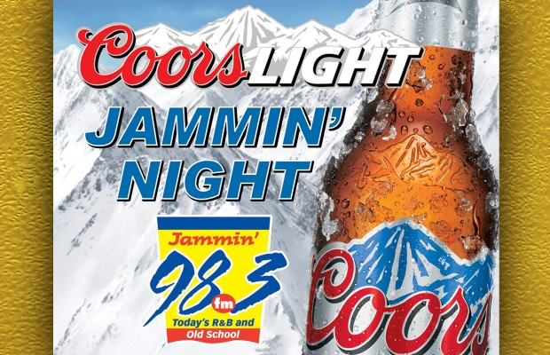 Kenosha!  Coors Light Jammin' Night is Coming to You!