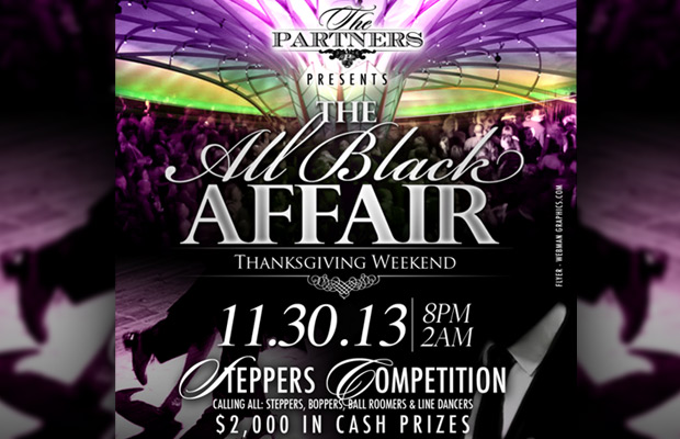The All Black Affair – Steppers Competition