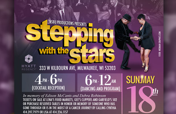 """Milwaukee Steppers & Boppers United presents """"Steppin' With The Stars"""""""