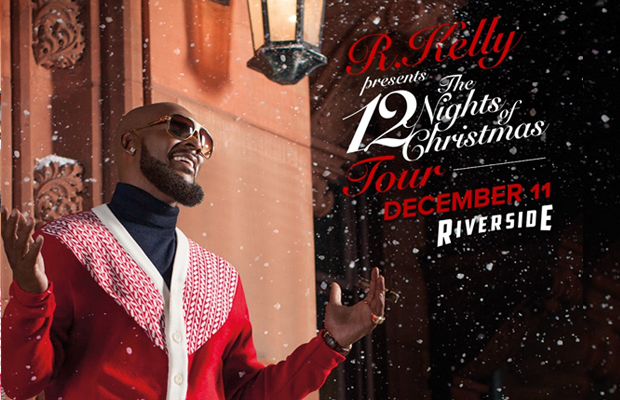 R. Kelly – 12 Nights of Christmas Tour | Jammin 98.3